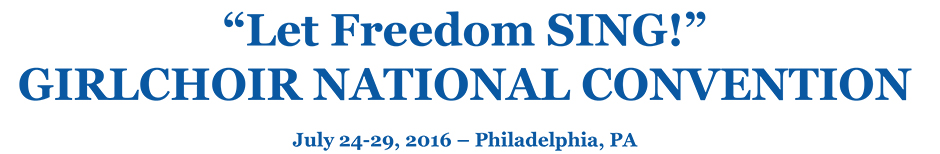 Let Freedom SING! National Girlchoir Convention
