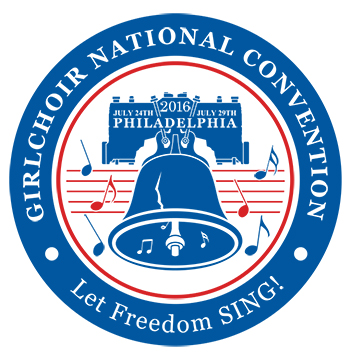 Let Freedom Sing - Girlchoir National Convention logo